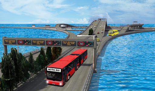 metro bus games 2020: bus driving games 2020 screenshot 1