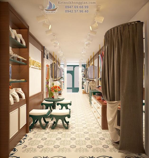 Thiết kế cửa hàng thời trang chuyên nghiệp tại Hà Nội