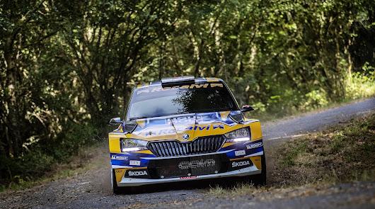 Suarez y Skoda se pueden ser campeones de España de Rallys este fin de semana