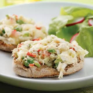 Crab Salad Melts.