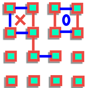 Dots Lines Boxes: Connect the Dots Lines Squares