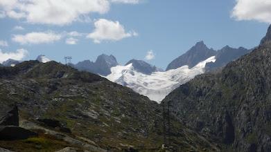 Photo: Finsteraare-gleccser