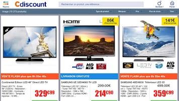 Screenshot of Cdiscount - Shopping mobile