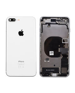iPhone 8 Plus Housing with small parts Original Pulled Silver