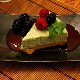 Green Tea Cheesecake.