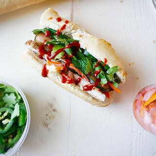Vietnamese Bánh Mì Sandwich.