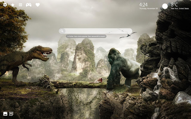 King kong vs godzilla wallpaper hd theme internetov - King kong 2005 hd wallpapers ...