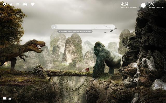 King Kong VS Godzilla Wallpaper HD Theme