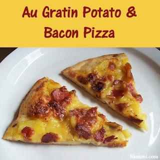 Au Gratin Potato and Bacon Pizza