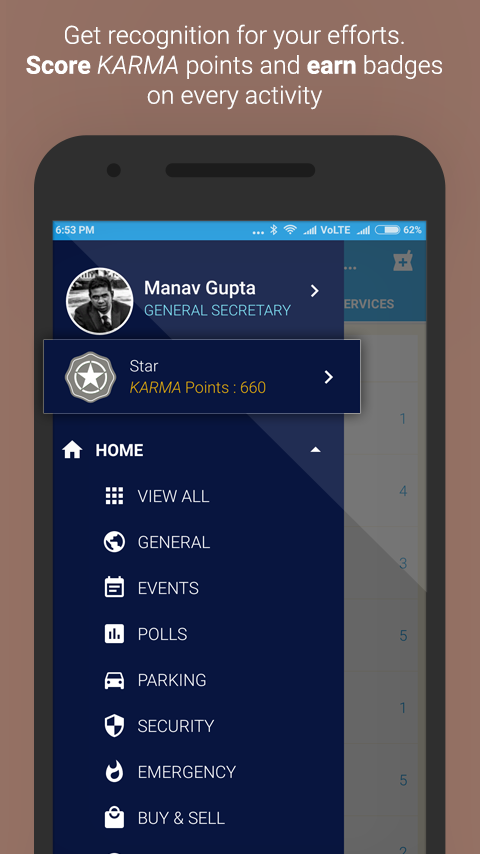 inLocality | Connect with neighbors in locality- screenshot