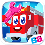 Cars for kids - car sounds & puzzles & simulator Icon