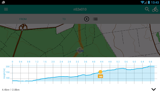 Alminav: Bicycle Navigation & Routes planning- screenshot thumbnail