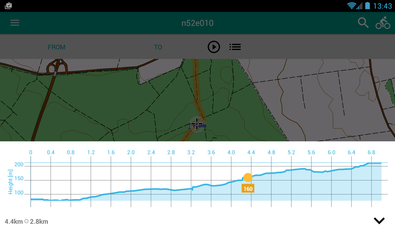Alminav: Bicycle Navigation & Routes planning- screenshot