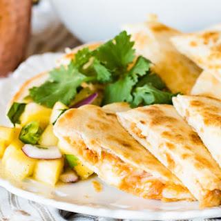 Salmon Quesadillas with Pineapple Salsa