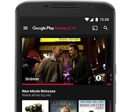 الأفلام وبرامج التلفزيون في Google Play