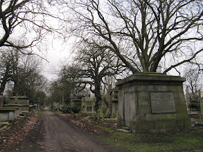 Photo: Scene from the Kensal Green Cemetery