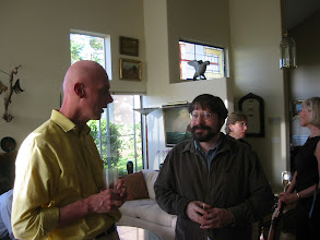 Photo: Professors Peter Wakker and Michael Birnbaum