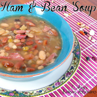 Ham & Bean Soup.