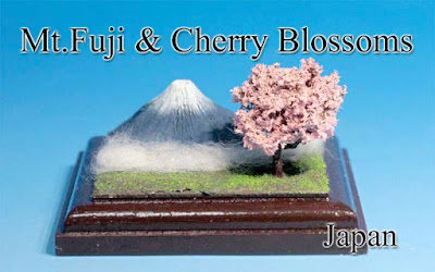 Mt.Fuji & Cherry Blossoms -Japan-