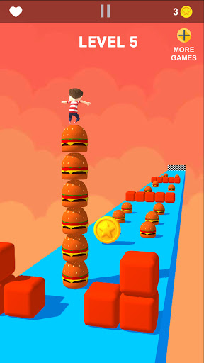 Cube Tower Stack Surfer 3D - Race Free Games 2020 filehippodl screenshot 3