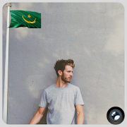 Mauritania Flag In Your picture : Photo Editor APK