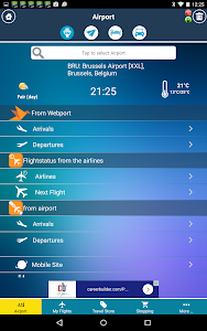Brussels Airport + Radar BRU screenshot 1