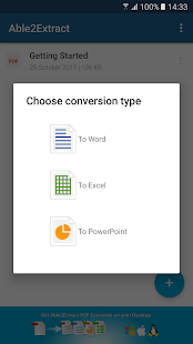 Able2Extract PDF Converter- screenshot thumbnail