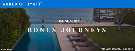 """Register Now: World Of Hyatt Triple Points Promotion """"Bonus Journeys"""" Valid July 20 – September 15, 2021"""