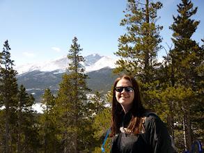 Photo: Enjoying the hike on a beautiful Winter Day