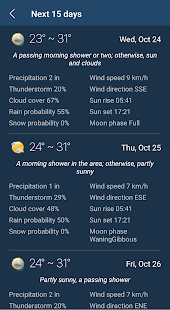 Weather Forecast APK image thumbnail 3
