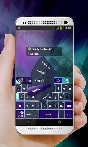 玩個人化App|マンリー泡Manrī awa GO Keyboard免費|APP試玩