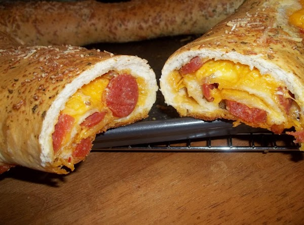Leave set about 5 minutes.Serve with your favorite Marinara sauce. These are delicious without..Enjoy...