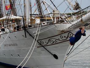 Photo: #020-Journée à l'Armada 2008. Le Christian Radich, un trois-mâts carré (Norvége).