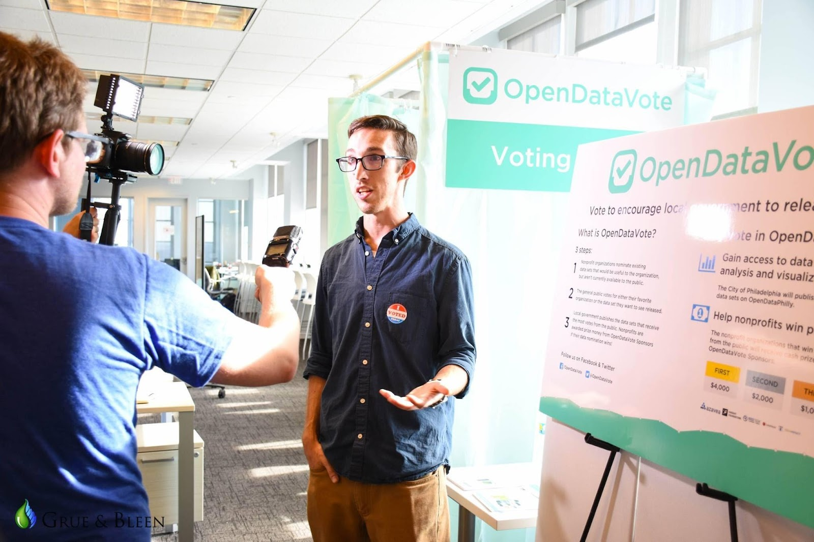 Open Data Vote Interview