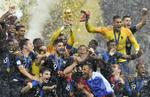 世界盃決賽 法國勝克羅地亞奪冠