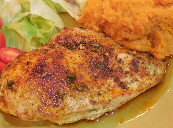 Chicken With Smoked Paprika And Bourbon