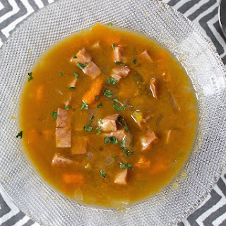 Ham and Sweet Potato Soup (Paleo).