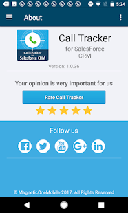 Call Tracker for Salesforce CRM- screenshot thumbnail