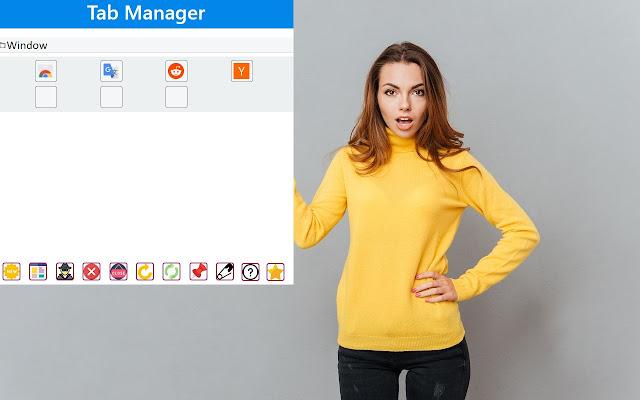 Tab Manager for Google Chrome™