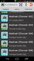 Screenshot of Watch Live Makkah 24 Hours HD