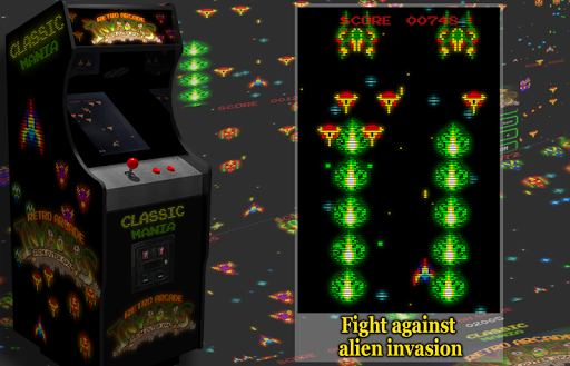 Retro Arcade Invaders - Space Shooter  screenshots 4