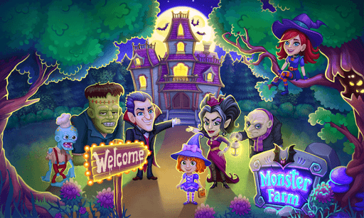 Monster Farm: Halloween dans le Village fantôme  captures d'écran 1