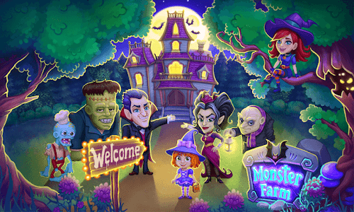 Monster Farm: Happy Ghost Village & Witch Mansion 1.28