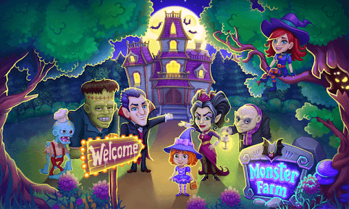 Monster Farm – Happy Ghost Village – Witch Mansion 8