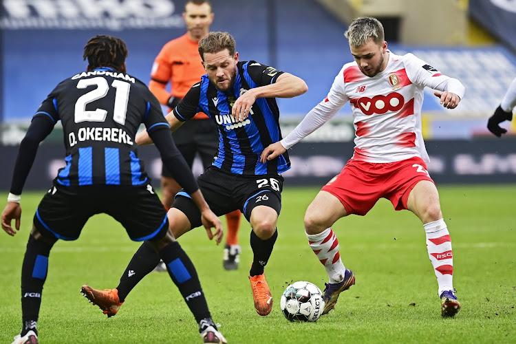 """Nicolas Raskin : """"Quand le Club de Bruges est rentré dans la rencontre, c'est devenu plus compliqué"""""""