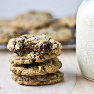 Nutty Sea Salt Chocolate Chunk Cookies.