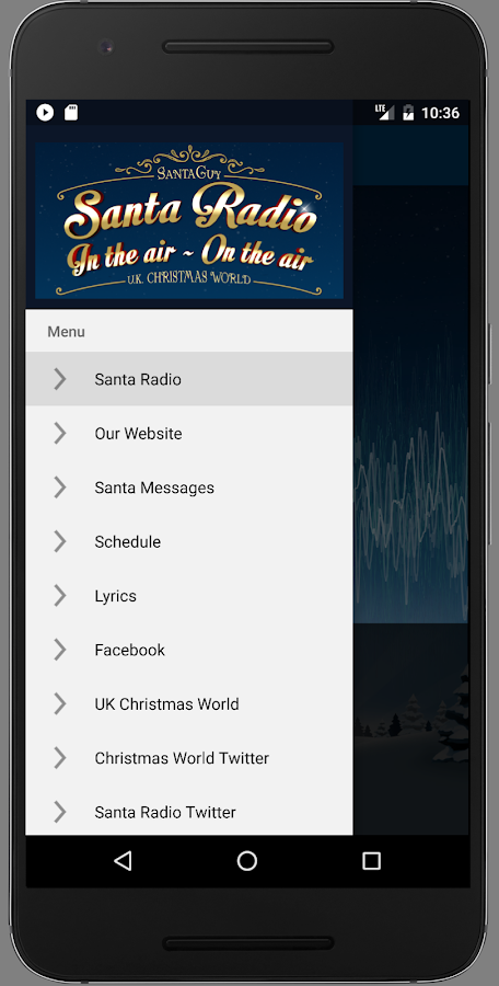 Santa Radio- screenshot