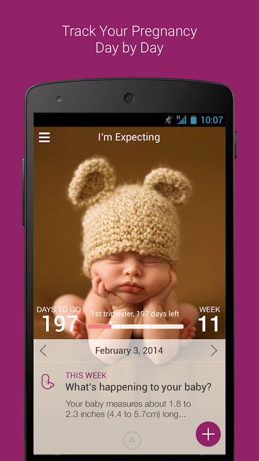 I'm Expecting - Pregnancy App- screenshot
