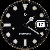 Submarine Watch Face