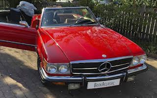 Mercedes-benz 450sl Rent København